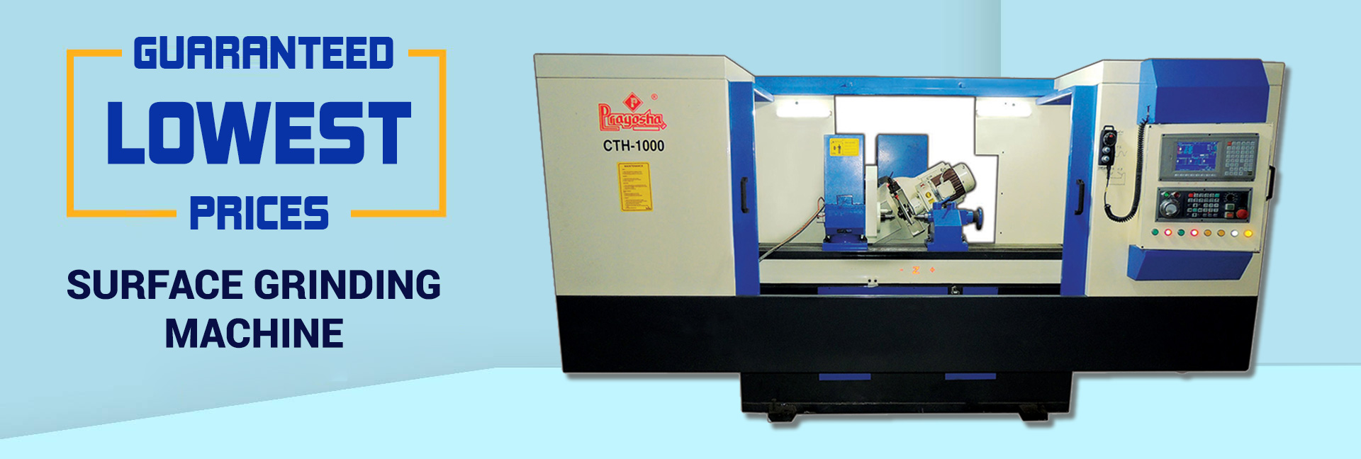 surface grinding machine, Manufacturer